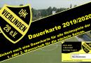Dauerkarten für die Saison 2019/2020 ab sofort erhältlich