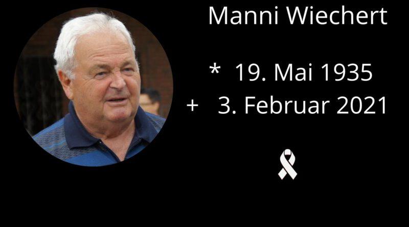 DJK trauert um Manni Wiechert